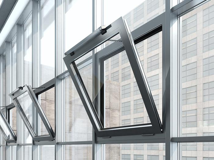 Windowdrives Geze Slimchain L 24 V Dc 500mm Hub 300n Silber